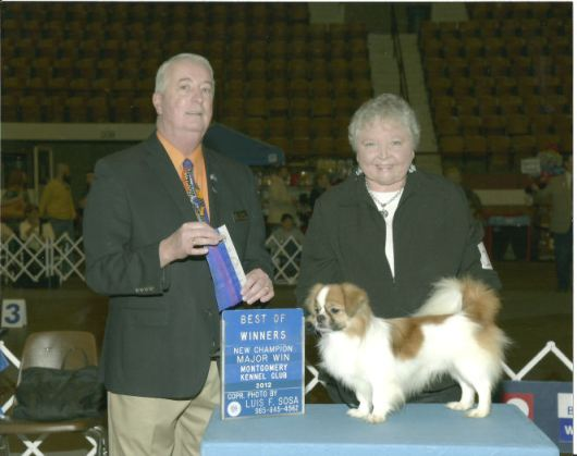 """BOND"" completed his championship on November 23, 2012 in Montgomery, AL"